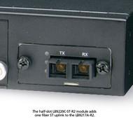 Black Box Modular Express Ethernet Switch 1-Port Fiber Module for Half-Slot, ST LB9220C-ST-R2