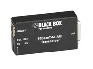 Black Box 10BASE-T to AUI Transceiver LE180A