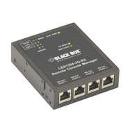 Black Box Remote Console Server - 4-Port with 3G Cellular LES1204A-3G-R2
