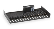 Black Box Rackmount Tray for LBHxxxA, LE15xxA, and LP004A Series, with (1) 9-V P LH1505P-RACK