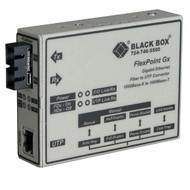 Black Box FlexPoint Modular Media Converter, 1000BASE-T to 1000BASE-SX, 850-nm M LMC1003A-R3