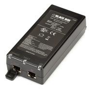 Black Box 802.3af PoE Gigabit Injector, 1-Port LPJ001A-F