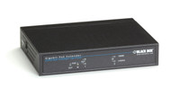 Black Box Gigabit PoE Repeater, (1) PD In, (1) PoE Out LPR1101