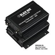 Black Box Universal Fiber Optic Line Driver Transceiver, 1310-nm Single-Mode MD650A-13
