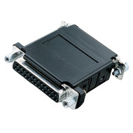 Black Box Asynchronous Modem Eliminator (AME), DB25, Female/Female ME200