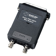 Black Box Async Fiber Optic Mini Modem, DB25 Male ME605A-MST
