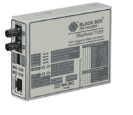 Black Box FlexPoint T1/E1 to Fiber Line Driver, Multimode, 5 km, ST MT660A-MM