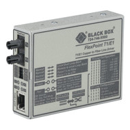 Black Box FlexPoint T1/E1 to Fiber Line Driver, Single-Mode, 28 km, ST MT661A-SM
