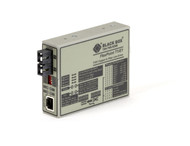 Black Box FlexPoint T1/E1 to Fiber Line Driver, Single-Mode, 28 km, SC MT663A-SSC