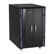 """Black Box Elite QuietCab - 24U, 49.2""""H x 30.7""""W x 47.64""""D QCE24U"""