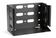 "Black Box Wallmount Rack 12"" with Swing Bracket and Adjustable Shelf RM095A-R2"