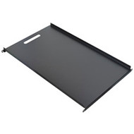 """Black Box Solid Equipment Shelf for Comm Cabinets, 17.72""""W x 30.5""""D RM316"""