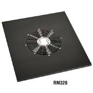 """Black Box Comm Cabinet Fan Tray - 5""""H, 17.72""""W x 20""""D RM320"""