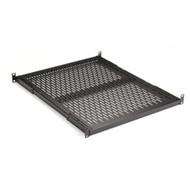 "Black Box Fixed Vented Server Shelf, 22.25""D, for 19"" Rails RM399-R2"