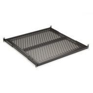 "Black Box Fixed Vented Server Shelf, 22 1/4""D, for 23"" Rails RM589-R2"