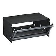 "Black Box 19"" Bottom-Hinged Panels, 4U RM685"