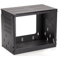 "Black Box 19"" Bottom-Hinged Panel, 8U RM687"