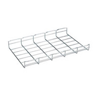"""Black Box BasketPAC Cable Tray Section, 2""""H x 78""""L (5.1 x 198.1 cm), 12""""W (30.5 RM716A"""