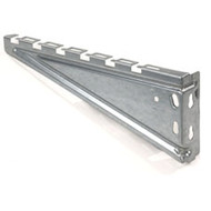 "Black Box BasketPAC Cable Tray Wall Bracket, 12"" RM731"