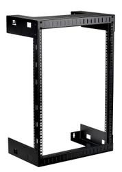 """Black Box Open Frame Rack, 12""""D, 15U RMT991A"""