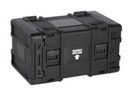 "Black Box Shock-Isolated Equipment Rack, 8U, 30"" Deep SIER-8U-30"
