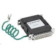 Black Box RS-232 Surge Protector - DB25, 4-Wire Serial SP141A