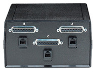 Black Box ABC Dual Switch, DB25 and DB25 for RS-232, Chassis Style B SW184A