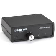Black Box 2-to-1 Fiber Switch, ST SW459A-ST