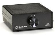 Black Box DB9 Switches, (3) Female SWL030A-FFF
