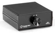 Black Box DB9 Switches, (2) Female to (1) Male SWL030A-FFM