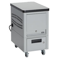 Black Box 10-Unit Tablet Locker Cart TABDEPC-10