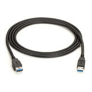 Black Box USB Version 3.0 Cable, Type A Male-Type A Female, 3-ft. (0.9-m) USB31-0003-MF