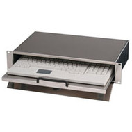"""Black Box Keyboard Compartment for 19"""" Racks RM092"""