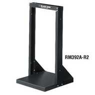 "Black Box 19"" Steel Distribution Racks, 20U 39"" H RM392A-R2"