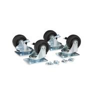 Portable Rack Locking Caster Kit 0014-2-004-00