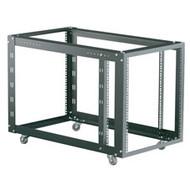 Black Box 4-Post Modular Rack with Adjustable M6 Rails RMT625A