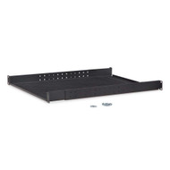 Kendall Howard 1U Vented 4-Point Adjustable Shelf