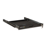 Kendall Howard 1U Rackmount 4-Post Keyboard Tray