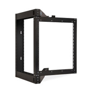 Kendall Howard 12U Phantom Class Open Frame Swing-Out Rack