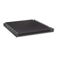"Kendall Howard 1U 20"" Rack Mountable Sliding Shelf"
