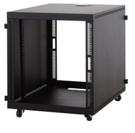 Kendall Howard 12U Compact SOHO Server Cabinet - No Doors