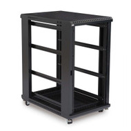 "Kendall Howard 22U LINIER Open Frame Server Rack - No Doors & Side Panels - 36"" Depth"