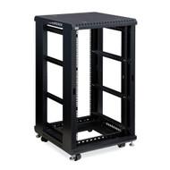 "Kendall Howard 22U LINIER Open Frame Server Rack - No Doors or Side Panels - 24"" Depth"