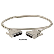 Black Box DB25 Serial Null-Modem Cable BC05000-0010-MM
