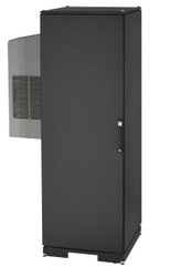 Black Box 42U ClimateCab NEMA 12 Server Cabinet with Tapped Rails and 8000-BTU A CC42U8000T-R2