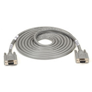 Black Box Extended-Distance/Quiet Cable with Nonremovable EMI/RFI Hoods, Strande EGM12D-0005-FF