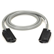 Black Box CAT5 25-Pair Telco Cable, PVC, Straight-Wired, AVAYA Style, Male 50-Pi ELN28T-0100-MM