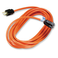 Black Box Indoor/Outdoor Utility Cord, Single-Outlet, 14/3 Grounded, Heavy-Duty, EPWR34