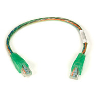 Black Box iMac CAT5e Patch Cable, 350-MHz, 4-Pair, PVC, Stranded, Straight-Pinne EYN798-0020