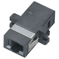 Black Box Fiber Optic Coupling, MT-RJ-MT-RJ, Rectangular Mounting with Cap, Mult FOT122